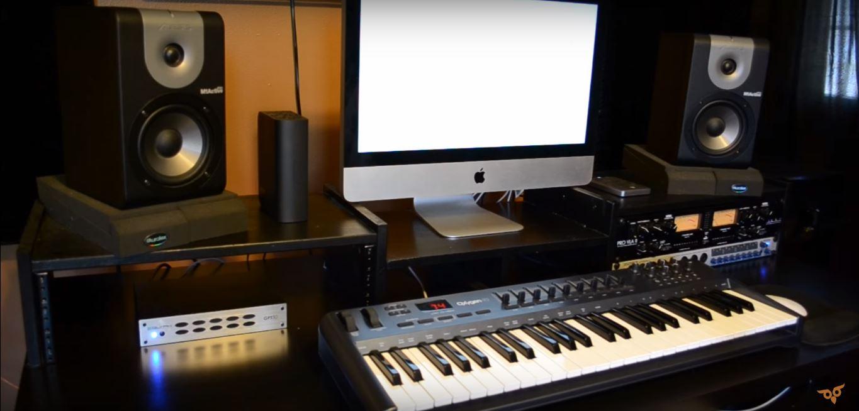 Track Studio Recording Console