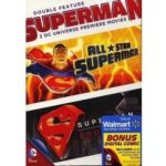 DC Universe: Superman Double Feature (DVD + Digital Comic) (Walmart Exclusive) (Widescreen)