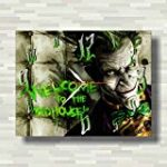 The Joker-Batman Handmade Wall Clock