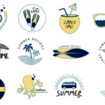Free Summer Vector Icons